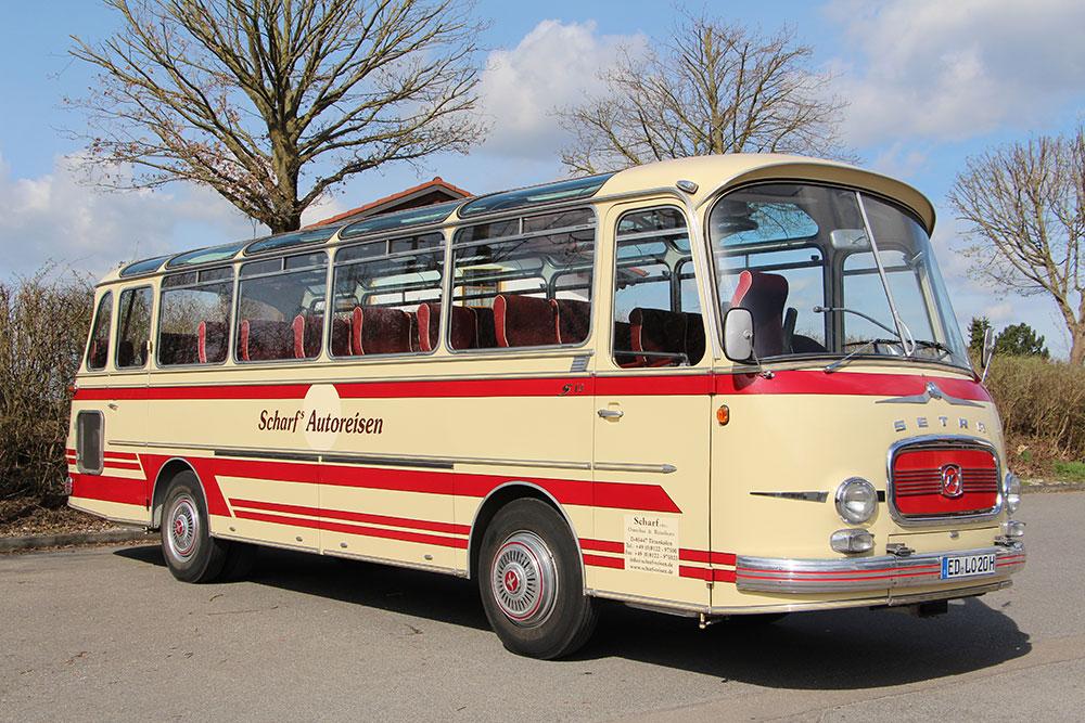 Oldtimer-Bus Kässbohrer-Setra S10