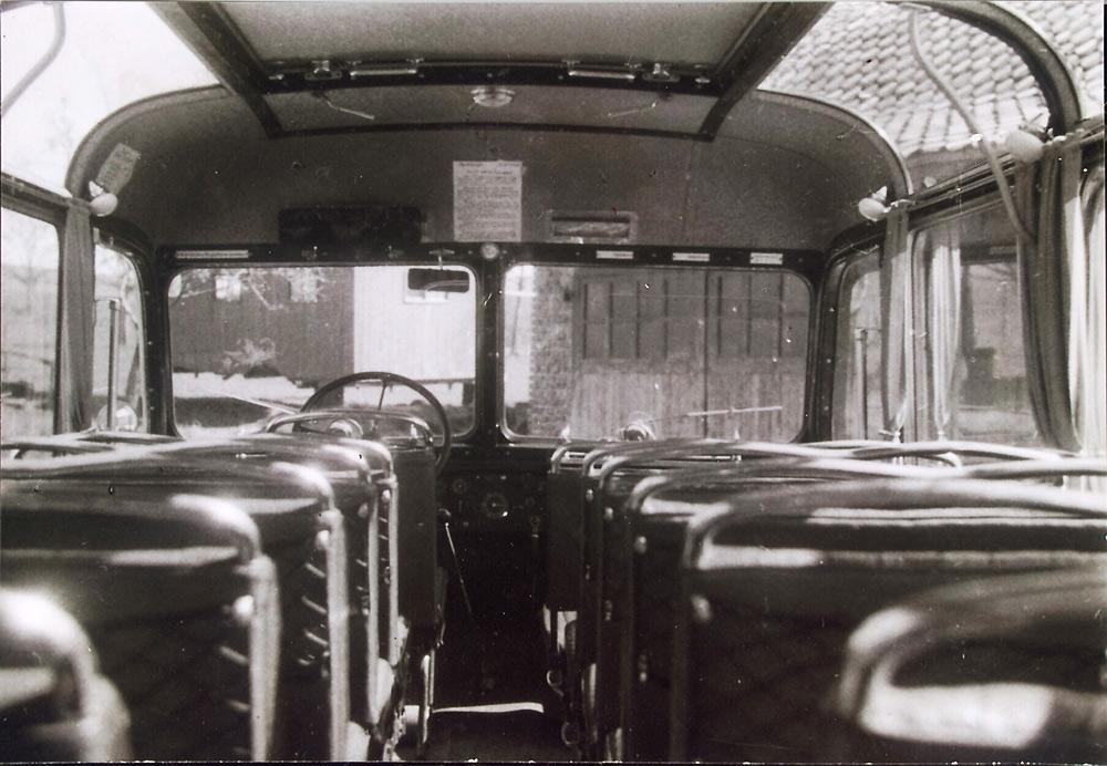 Scharf reisen 50er Jahre