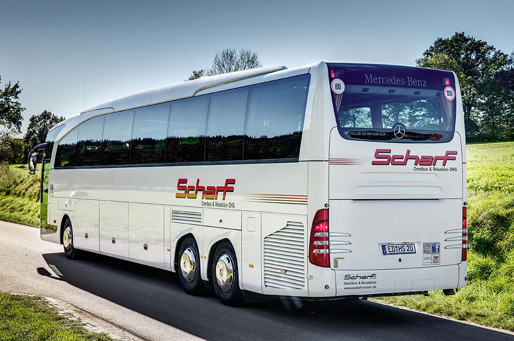 Scharf Bierausschank Bus