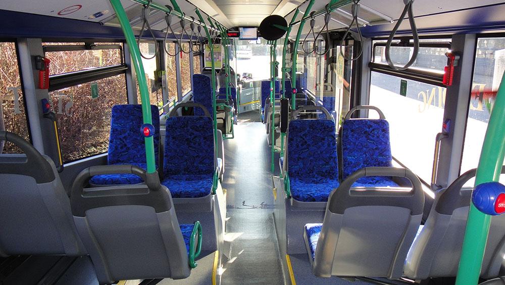 Scharf Stadtbus Innenausstattung