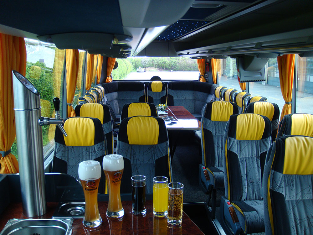 Scharf Bus Innenausstattung