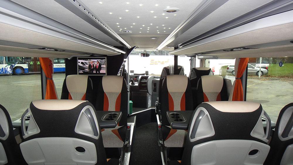 Doppelstockbus innen