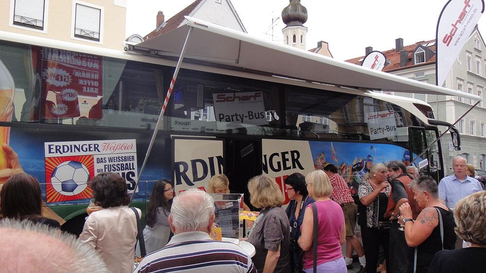 Scharf Partybus