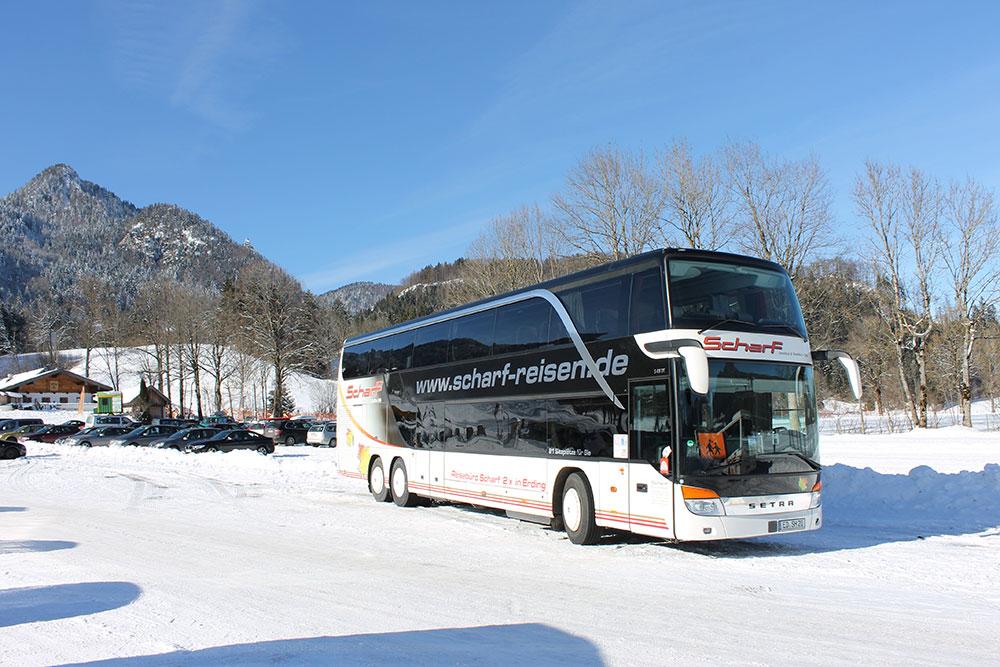 Scharf Doppelstockbus