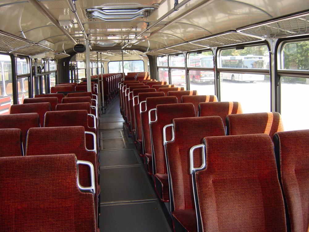 Scharf reisen 70er Jahre Bus