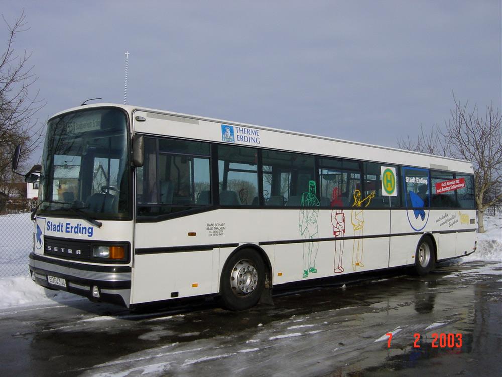 Scharf reisen 80er Jahre Bus