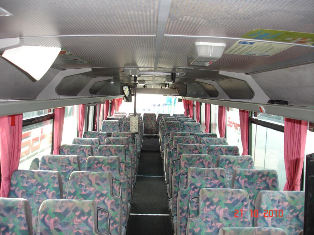 Scharf reisen 90er Jahre Bus