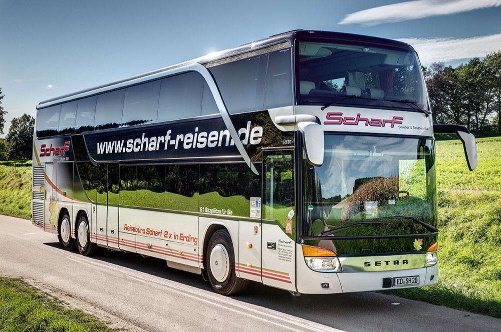 Scharf reisen modern